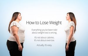 Ad describing how easy weight loss is